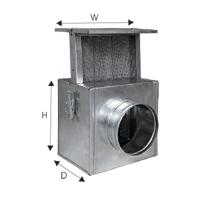 ohkkuttesusteemi filter d125mm